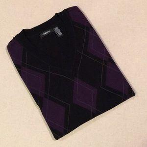 Claiborne 100% Cotton Sweater Vest size XLT